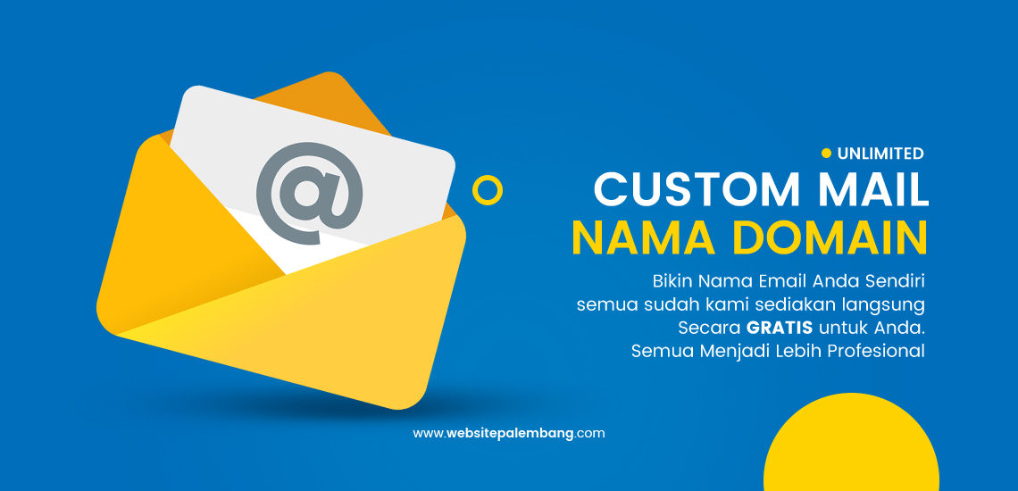 Mail Unlimited Domain Name Website Palembang Smart Digital Jsa Desain Website Palembang - Jasa Pembuatan APlikasi Android - Aplikasi Dekstop - Aplikasi Website